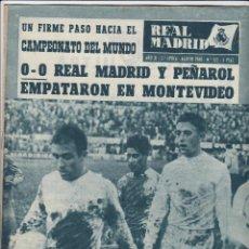 Coleccionismo deportivo: REVISTA OFICIAL REAL MADRID, AÑO XI / 2ª ÉPOCA Nº 122/ AGOSTO 1960, ENVÍO GRATIS. Lote 51596653
