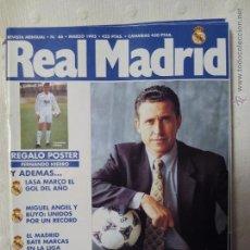 Coleccionismo deportivo: REVISTA REAL MADRID NÚMERO 66 MARZO 1995. Lote 51613385