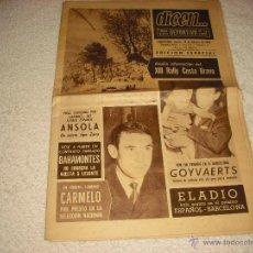Coleccionismo deportivo: DICEN... PRIMER DIARIO DEPORTIVO DE LA TARDE 1965 . EDICION ESPECIAL. Lote 51698886