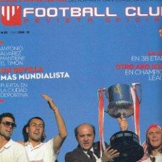 Coleccionismo deportivo: Nº 20 - FOOTBALL CLUB. REVISTA OFICIAL DEL SEVILLA FC. JUNIO 2010.. Lote 51791345