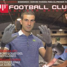 Coleccionismo deportivo: Nº 23 - FOOTBALL CLUB. REVISTA OFICIAL DEL SEVILLA FC. JUNIO 2011.. Lote 51791377