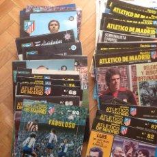 Coleccionismo deportivo: LOTE 30 REVISTAS ATLETICO MADRID EN BUEN ESTADO NINGUNA REPETIDA. Lote 51797991