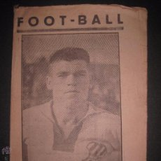 Coleccionismo deportivo: FOOT-BALL - CLOS EN PORTADA - NUMERO 12 SEGUNDA EPOCA - (V- 3141). Lote 51924882