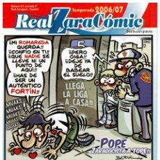 Coleccionismo deportivo: REAL ZARACÓMIC - 2006/07 - 12 NÚMEROS 24€ - SUELTOS 2,50€ - REAL ZARAGOZA. Lote 48201021