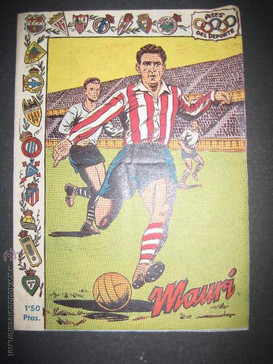 MAURI - ATLETIC DE BILBAO - COMIC - ASES DEL DEPORTE - VER FOTOS - (V-3303) (Coleccionismo Deportivo - Revistas y Periódicos - otros Fútbol)
