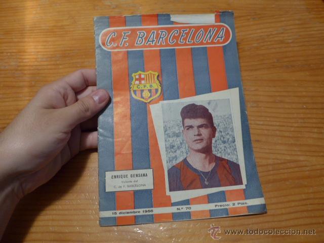 ANTIGUA REVISTA DE CLUB FUTBOL BARCELONA, 1956, BARÇA (Coleccionismo Deportivo - Revistas y Periódicos - otros Fútbol)