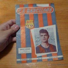 Coleccionismo deportivo: ANTIGUA REVISTA DE CLUB FUTBOL BARCELONA, 1956, BARÇA. Lote 52302499