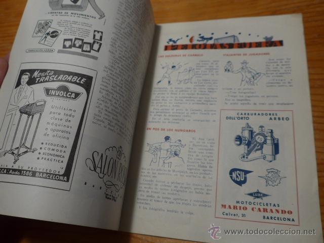 Coleccionismo deportivo: Antigua revista de Club futbol barcelona, 1956, barça - Foto 3 - 52302499