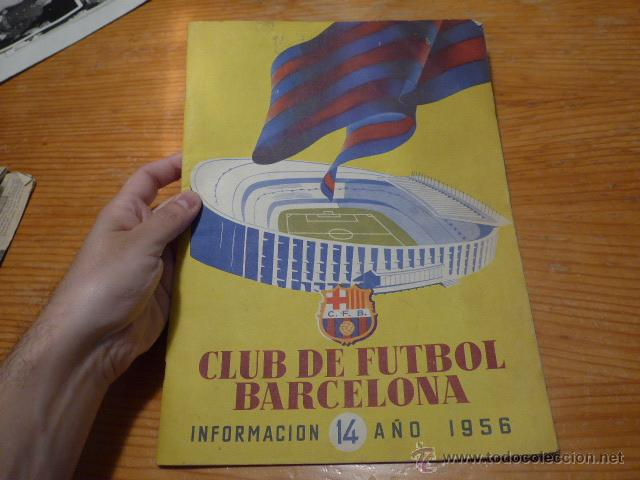 ANTIGUA REVISTA CLUB FUTBOL BARCELONA, 1956, BARÇA (Coleccionismo Deportivo - Revistas y Periódicos - otros Fútbol)