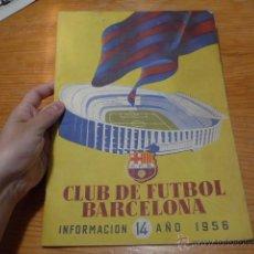 Coleccionismo deportivo: ANTIGUA REVISTA CLUB FUTBOL BARCELONA, 1956, BARÇA. Lote 52302526
