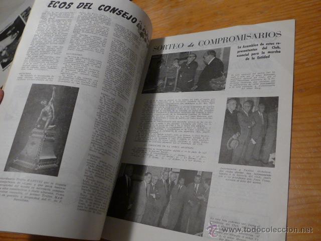 Coleccionismo deportivo: Antigua revista club futbol barcelona, 1956, barça - Foto 3 - 52302526