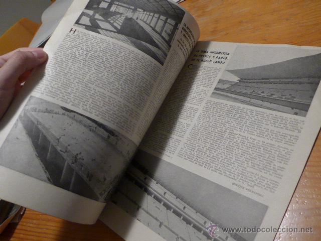 Coleccionismo deportivo: Antigua revista club futbol barcelona, 1956, barça - Foto 4 - 52302526