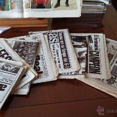 Coleccionismo deportivo: DIARIO AS : LOTE DE 7 PERIODICOS AÑOS 1980. Lote 52372015