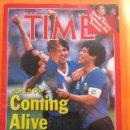 Coleccionismo deportivo: REVISTA COMPLETA TIME 30 JUNIO 1986 - MARADONA LA COPA DEL MUNDO PLATINI - INGLES. Lote 52462381