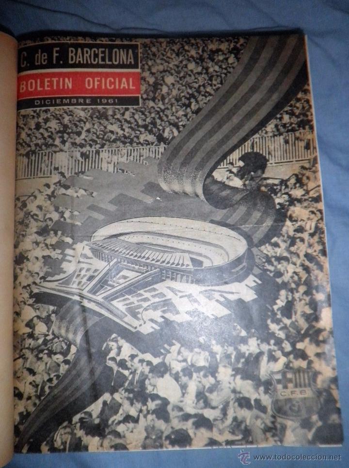 Coleccionismo deportivo: BOLETIN OFICIAL DEL C.DE F.BARCELONA - AÑOS 1962-64 - 30 NUMEROS EN UN VOLUMEN - MUY ILUSTRADOS. - Foto 2 - 52514233