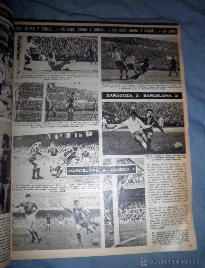 Coleccionismo deportivo: BOLETIN OFICIAL DEL C.DE F.BARCELONA - AÑOS 1962-64 - 30 NUMEROS EN UN VOLUMEN - MUY ILUSTRADOS. - Foto 5 - 52514233