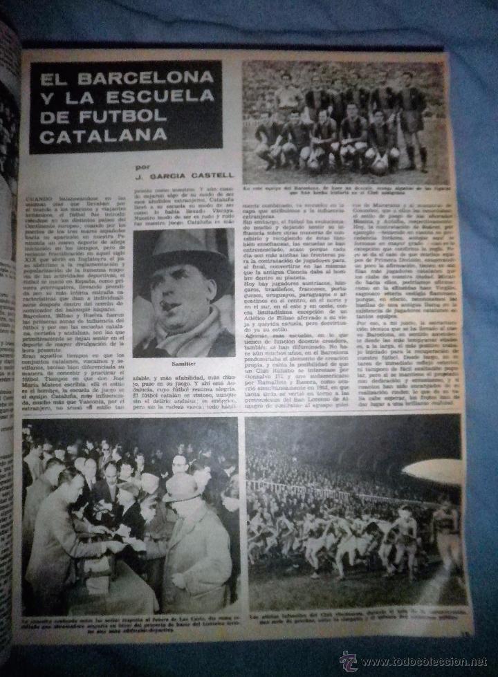 Coleccionismo deportivo: BOLETIN OFICIAL DEL C.DE F.BARCELONA - AÑOS 1962-64 - 30 NUMEROS EN UN VOLUMEN - MUY ILUSTRADOS. - Foto 6 - 52514233