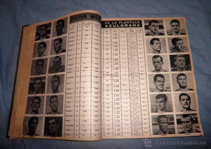 Coleccionismo deportivo: BOLETIN OFICIAL DEL C.DE F.BARCELONA - AÑOS 1962-64 - 30 NUMEROS EN UN VOLUMEN - MUY ILUSTRADOS. - Foto 9 - 52514233