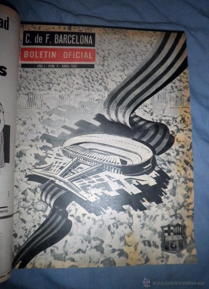 Coleccionismo deportivo: BOLETIN OFICIAL DEL C.DE F.BARCELONA - AÑOS 1962-64 - 30 NUMEROS EN UN VOLUMEN - MUY ILUSTRADOS. - Foto 10 - 52514233