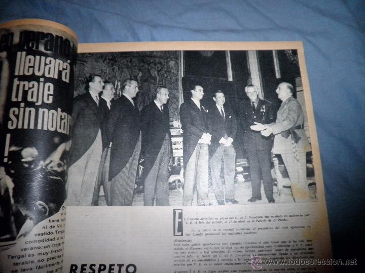 Coleccionismo deportivo: BOLETIN OFICIAL DEL C.DE F.BARCELONA - AÑOS 1962-64 - 30 NUMEROS EN UN VOLUMEN - MUY ILUSTRADOS. - Foto 11 - 52514233