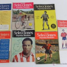 Coleccionismo deportivo: RV-108. REVISTA SELECCIONES DEPORTIVAS MUNDIALES 7 NUMEROS AÑOS 50. Lote 52537115