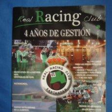 Coleccionismo deportivo: REAL RACING CLUB DE SANTANDER AÑO 2 Nº 7 FEB-JUN 2010. Lote 52582705