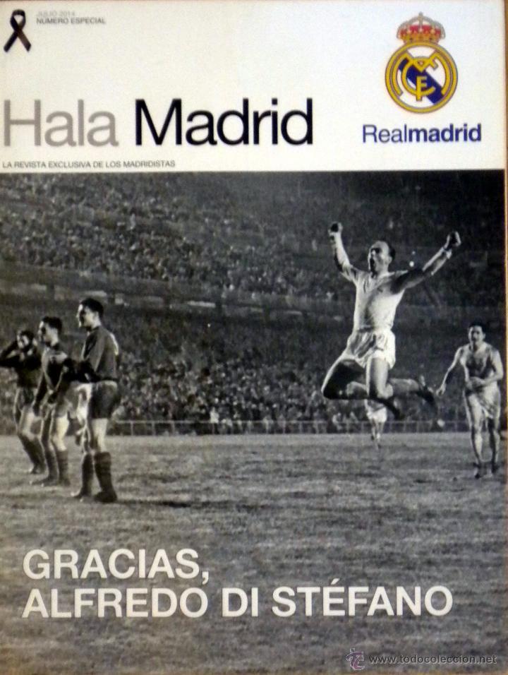 REVISTA HALA MADRID ESPECIAL MUERTE D. ALFREDO DI STEFANO SIN POSTER (Coleccionismo Deportivo - Revistas y Periódicos - otros Fútbol)