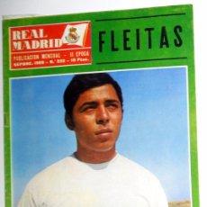 Coleccionismo deportivo: REVISTA REAL MADRID. BOLETIN INFORMATIVO. Nº232. SEPTIEMBRE 1969. FLEITAS.LIGA 69/70 FUTBOL VINTAGE. Lote 52824980