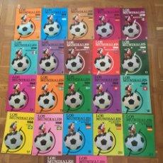 Coleccionismo deportivo: LOS MUNDIALES. Lote 52839340