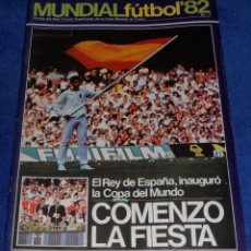 Coleccionismo deportivo: MUNDIAL DE FUTBOL 82 Nº 7 - REVISTA COMITÉ ORGANIZADOR - INAGURACIÓN. Lote 74280667