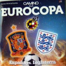 Coleccionismo deportivo: REVISTA FUTBOL SELECCION ESPAÑOLA-INGLATERRA ESTADIO RICO PEREZ ALICANTE 50 PAG 21,5X30CM-NOV 2015. Lote 52984844