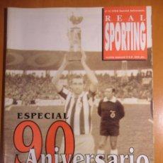 Coleccionismo deportivo: REAL SPORTING. Nº 2. 1996. ESPECIAL 90 ANIVERSARIO. REAL SPORTING DE GIJON. REVISTA DE 38 PAGINAS. C. Lote 53107675
