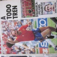 Coleccionismo deportivo: REVISTA COLECCIONABLE 4, MUNDIAL MEXICO 1986. EDITORIAL CAMBIO 16. Lote 70126549