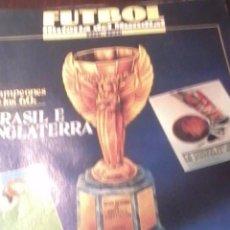 Coleccionismo deportivo: FUTBOL HISTORIA DEL MUNDIAL 1930 -1990. BRASIL E INGLATERRA.SUPLEMENTO FASCICULOS 4. EST23B1. Lote 53272545