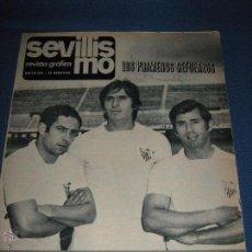 Coleccionismo deportivo: SEVILLISMO REVISTA GRÁFICA SEVILLA C.F. - MAYO 1971 - AUNQUE NO FIGURA NUMERO CORRESPONDE AL Nº 2. Lote 53426954