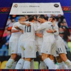 Coleccionismo deportivo: GRADA BLANCA REAL MADRID REAL SOCIEDAD JORNADA 17. 30-12-15. PÓSTER KEYLOR NAVAS. BE.. Lote 53677844