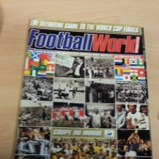 Coleccionismo deportivo: MUNDIAL FRANCIA 1998.REVISTA FOOTBALL WORLD. Lote 53874562