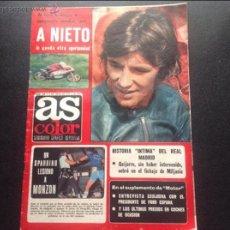 Coleccionismo deportivo: AS COLOR NÚMERO 320 DEL 5 DE JULIO DE 1977. SIN PÓSTER. Lote 53974158