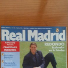 Coleccionismo deportivo: REVISTA REAL MADRID - Nº 90 - MAYO 1997. Lote 54069567
