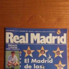 Coleccionismo deportivo: REVISTA REAL MADRID Nº 82. SEPTIEMBRE 1996. Lote 54088944