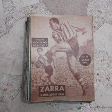 Coleccionismo deportivo: COLECCION IDOLOS DEL DEPORTE Nº 19,ZARRA ,LA MEJOR CABEZA DE EUROPA . Lote 54090802