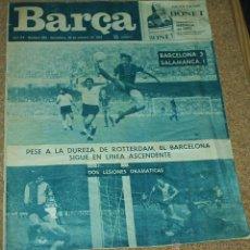 Coleccionismo deportivo: BARÇA Nº 989 - 29 OCTUBRE 1974 -REVISTA MUY INTERESANTE - VER FOTOS. Lote 54116933