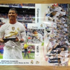 Coleccionismo deportivo: REVISTA HALA MADRID 56 NOVIEMBRE 2015 CRISTIANO RONALDO BOTA ORO BALONCESTO BASKET CAMPEON MUNDO. Lote 54167224