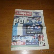 Coleccionismo deportivo: DEPORTE CAMPEON-DIARIO DEPORTIVO GALICIA-JUEVES 8 ABRIL 2004-DEPORTIVO-MILAN-2186 56. Lote 54227143