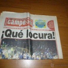 Coleccionismo deportivo: DEPORTE CAMPEON-DIARIO DEPORTIVO GALICIA- 20 MAYO 2000- DEPORTIVO CORUÑA CAMPEON LIGA-2186 56. Lote 54227474