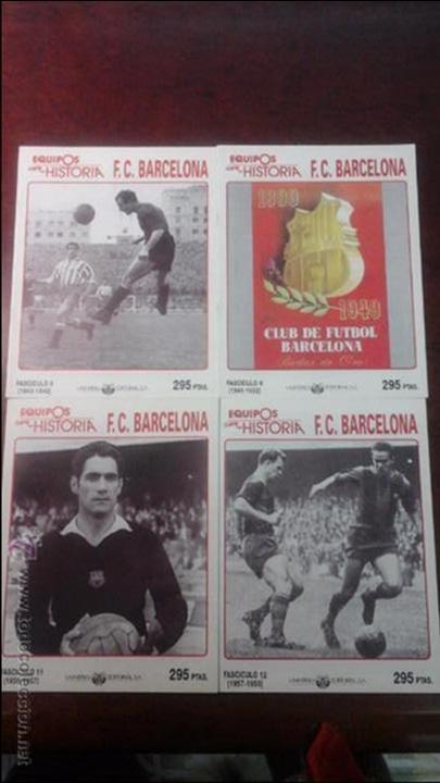 Coleccionismo deportivo: 13 FASCICULOS EQUIPOS CON HISTORIA F.C BARCELONA. - Foto 2 - 54306813