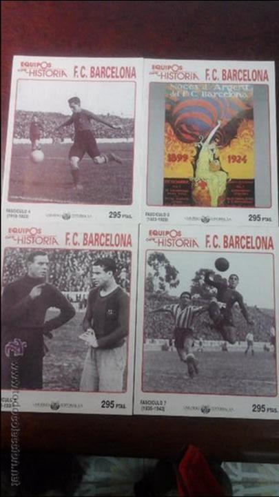 13 FASCICULOS EQUIPOS CON HISTORIA F.C BARCELONA. (Coleccionismo Deportivo - Revistas y Periódicos - otros Fútbol)