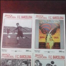 Coleccionismo deportivo: 13 FASCICULOS EQUIPOS CON HISTORIA F.C BARCELONA.. Lote 54306813