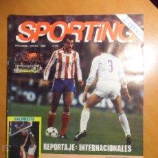 REAL SPORTING DE GIJON. Nº 59. DICIEMBRE / ENERO 1987. REVISTA. CON FOTOGRAFIAS.