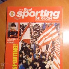 REAL SPORTING DE GIJON. AÑO 6. Nº 50. MARZO - ABRIL 1985. REVISTA. CON FOTOGRAFIAS.